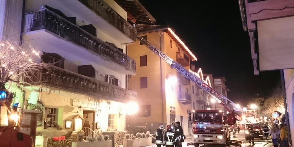 Incendio Hotel a Moena
