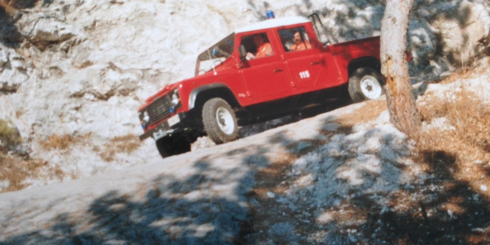 2002 Incendio Boschivo