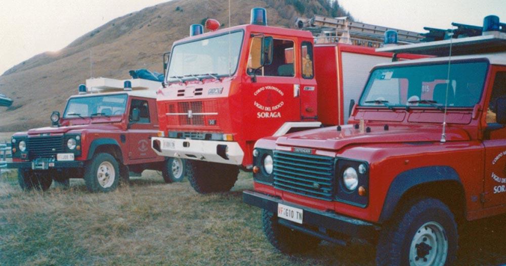 Storia vigili del fuoco volontari soraga for 2 piani di cabina di ceppi di storia